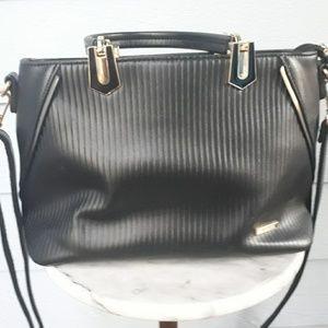 Vascara black purse from vietnam nwot